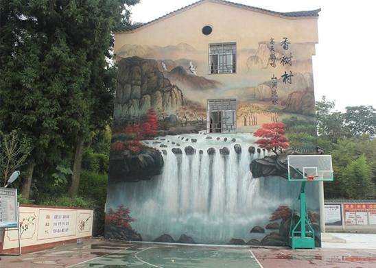 常见的重庆墙绘企业关于手绘墙的几个问答
