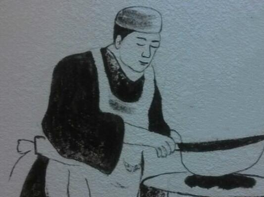 火锅店彩绘【烫感觉·巴国城店】