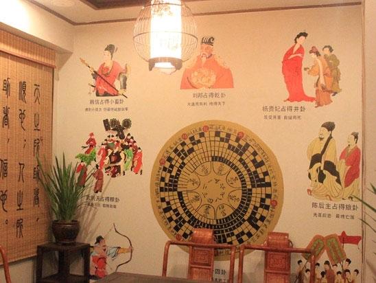 茶楼文化墙【易居】