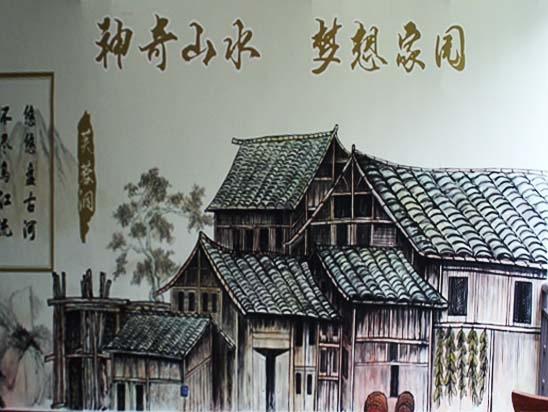 淄博景区墙绘