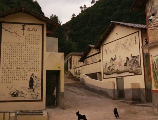 重庆农家乐墙绘彩绘