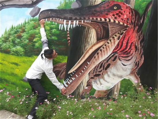 3D立体画【逃离侏罗纪】