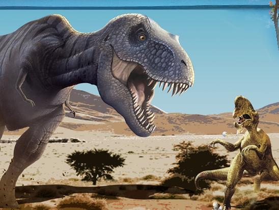 外墙彩绘【恐龙墙体彩绘】